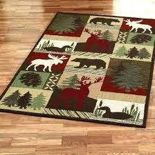 rustic cabin area rugs mountain rustic cabin area rugs lodge style themed r