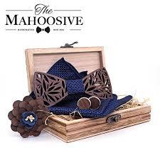 <b>4PCS Bow</b> Tie Set <b>Men</b> BowTie and Handkerchief Cufflinks ...