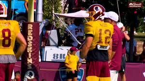 Redskins Qb Situation Colt Mccoy Lands On Top Of First