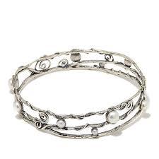 Bracelet Noa Design Noa Zuman Jewelry Designs Cultured Freshwater Pearl Sterling