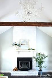 build a mantle shelf build fireplace