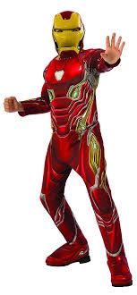 Elegant Iron Man Avengers Infinity War Deluxe Child Costume