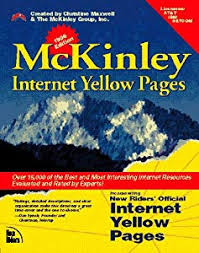 paperback mckinley official internet yellow pages book