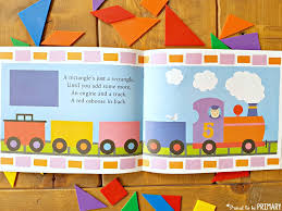 geometry and shapes for kids the shape of things book