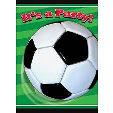 Soccer Party Invitations Soccer Party Invitations 8pk Walmart Com