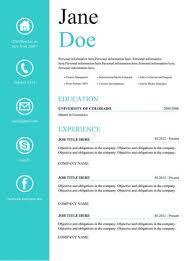 Creative Resume Template And Cover Letter - 1 | Gemresume – Gem Resume