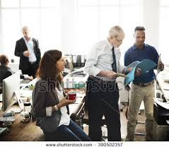 meeting office. business people meeting discussion working office concept