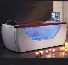 bathtub with tv right drain rectangular whirlpool bath tub bathtub tv tray