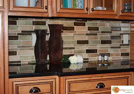 Glass Tile Kitchen Backsplash Designs Interesting Design Ideas