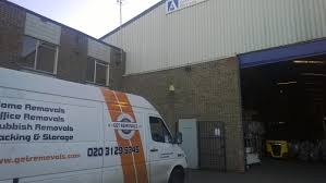 classic office relocations. London Removal Van In Front Of A Warehouse Classic Office Relocations T