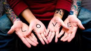 Tapety Zbraně Pár Tetování Srdce Milovat 2111x1184