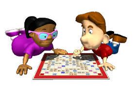 kids playing board games cartoon