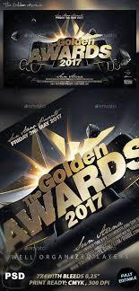 Awards Banquet Flyer Template Graficasxerga Com