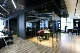 warehouse office design. Excellent Glass Front Offices Minimalist Office Warehouse Design Ideas
