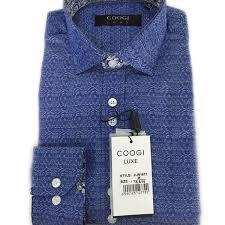 Coogi Luxe Mens Button Down Dress Shirts