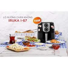 Nồi chiên nướng không dầu Iruka I67 6L