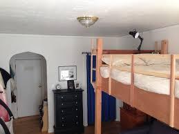 studio apartment above loft