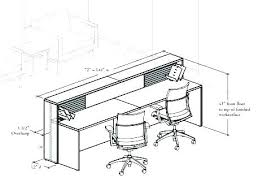 office desk size. Beautiful Office Standard Office Desk Dimensions Average Home Size Sizes Full Height Inches  Stand And I