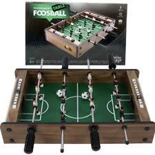 Miniature Wooden Foosball Table Game 100 Mini Wooden Table Top Foosball Game Set Soccer Arcade Football 75