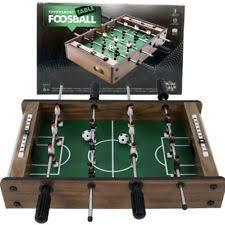 Miniature Wooden Foosball Table Game 100 Mini Wooden Table Top Foosball Game Set Soccer Arcade Football 75