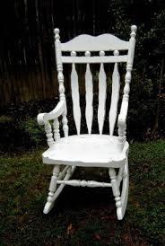 white wooden rocking chair. Modren White Wooden Rocking Chair For Nursery Intended White Rocking Chair W