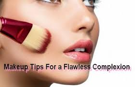 flawless plexion with makeup