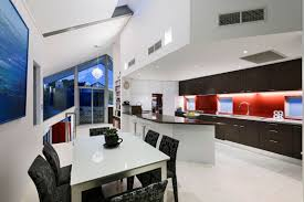 White Kitchen With Red Accents Architecture Adorable Red Accents Decorating Ideas Finemerchcom