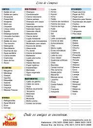 Lista De Compras Para El Supermercado Lista De Compras Cosas Pinte