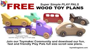Free patterns for wooden toys