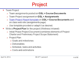 se software and systems project management ppt  4 project