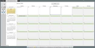 Monthly Calendar Schedule Maker Visual Schedule Template