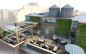 outdoor office plans. outdoor office space penthouse nyc with area plans