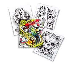 art with edge graffiti crayola color books for s