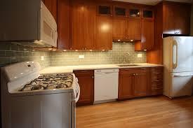 White And Cherry Wood Kitchen Remodel Contemporary Kitchen Unique Kitchen Design Cherry Cabinets
