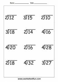 3rd Grade Math Worksheets Fraction Black White Multiplication ...