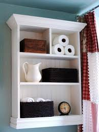 Custom bathroom cabinet ideas Grey Hgtvcom 12 Clever Bathroom Storage Ideas Hgtv