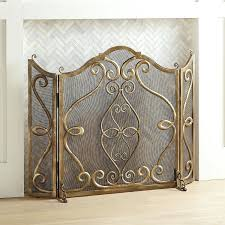 beveled glass fireplace screen frontgate beveled glass fireplace screen
