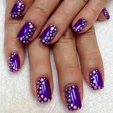 New Metallic Nail Art Design Trends 29 - Lucky Bella