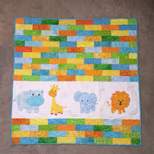 Shop Animal Baby Quilts on Wanelo & Jungle Animal Baby Quilt Adamdwight.com