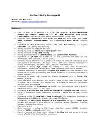 etl tester resume sample