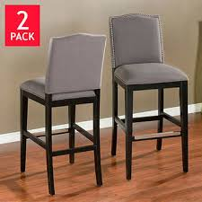 Baldwin 26 Leather Bar Stools With Back E31