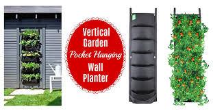 7 pocket hanging vertical garden wall