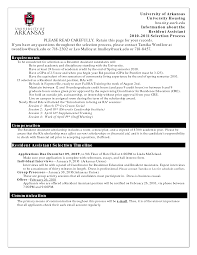 Resident Assistant Job Description Resume Resume For Study. Physical  Therapy Aide Resume Video In Hindi - 100 Web Design .