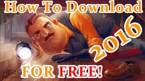 how to o neighbor best horror game free alpha demo you