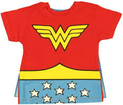 Image result for wonder woman t shirt with cape