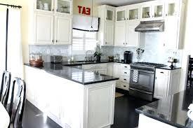 off white kitchen cabinets dark floors. White Kitchen Cabinets With Dark Floors Off Shaker . E