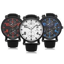 v6 v0182 super speed sport black big dial men quartz wrist watch v6 v0182 super speed sport black big dial men quartz wrist watch
