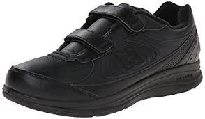 new balance black shoes. new balance men\u0027s mw577 hook and loop walking shoe, black, black shoes l
