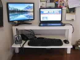 Wide LACK Standing Desk