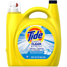 High Efficiency Detergent Vs Regular Tide Simply Clean Fresh He Liquid Laundry Detergent Refreshing